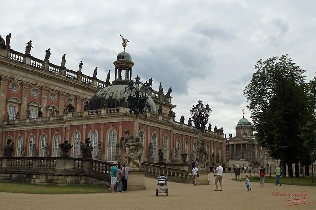 Sanssouci - New Palace /Potsdam