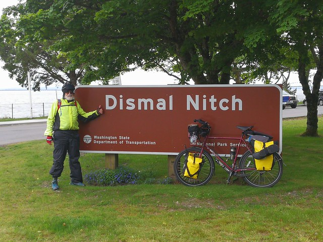 Fri, 06/02/2017 - 11:41 - Rest stop on the Washington side before crossing into Oregon. Appropriately named for how we felt after a morning of rain and fog.