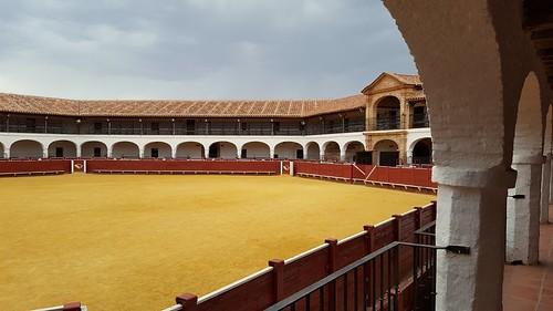 Plaza de toros hexagonal de Almadén. 1755.