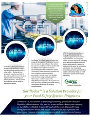 Gorilladox Food Safety Software Description