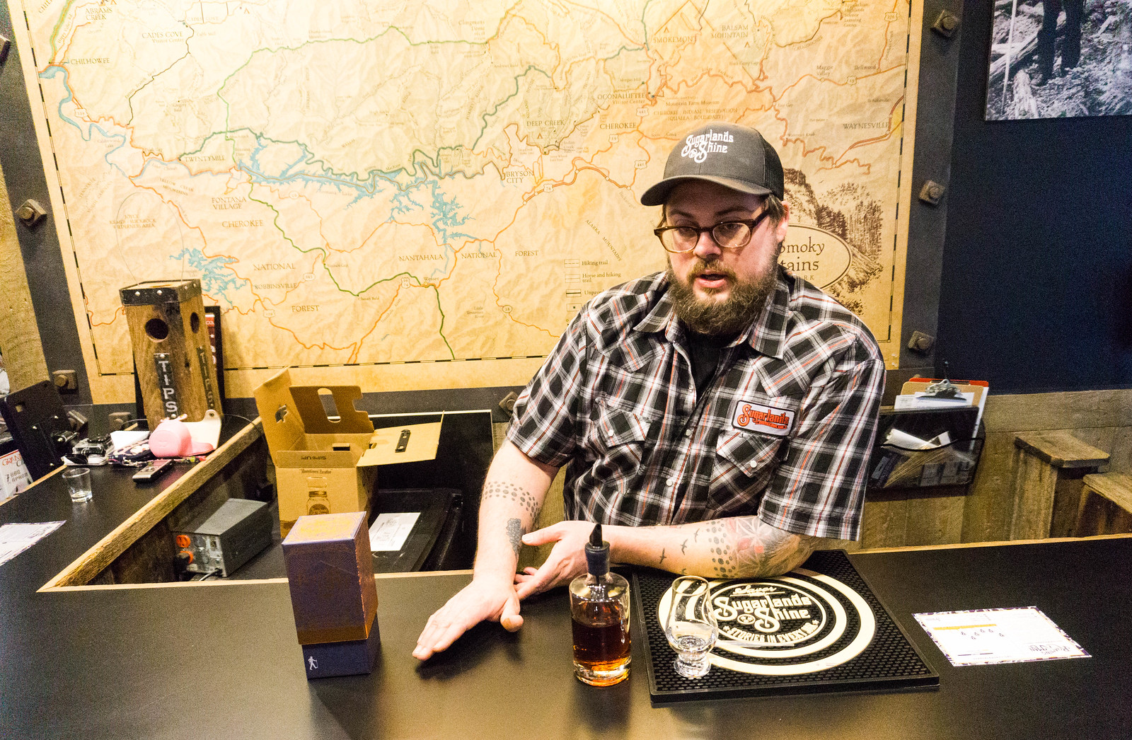 Kris Killingsworth - Sugarlands Distilling, Gatlinburg, Tenn.