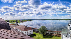 Siverskoye Lake. Kirillov. Vologda region