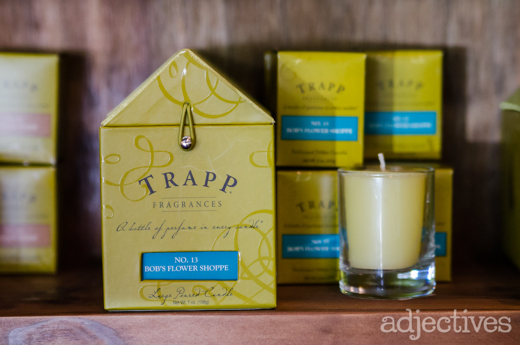 Trapp Candles at Adjectives