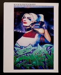 Harley Quinn (Instax Wide film)