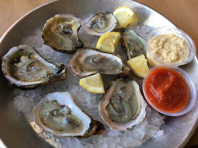 Blue Point oysters - L.P. Steamers