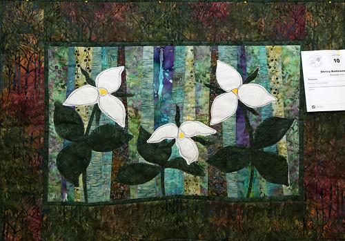 010: Trilliums—Shirley Buckmaster