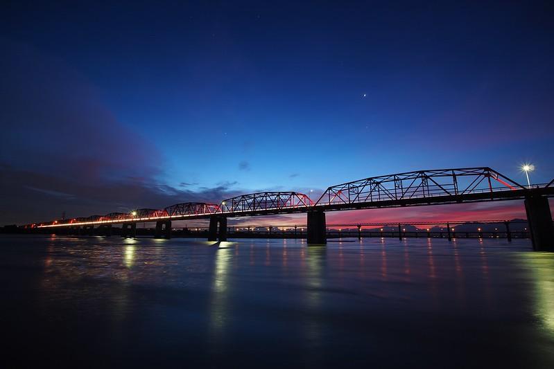 Sunrise 日出西螺大橋|彰化