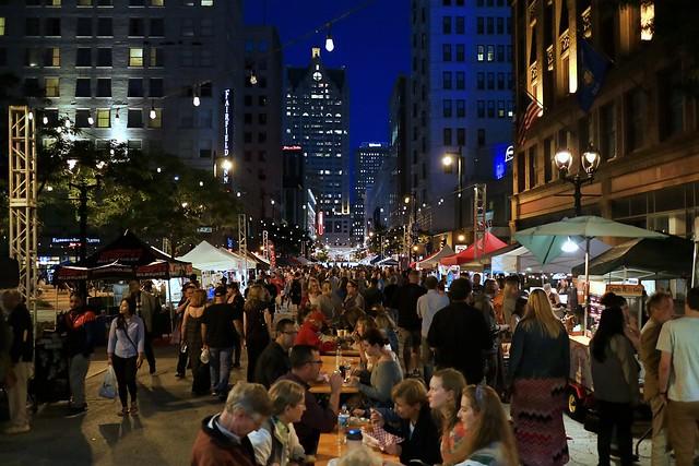 Night Market on Wisconsin Avenue