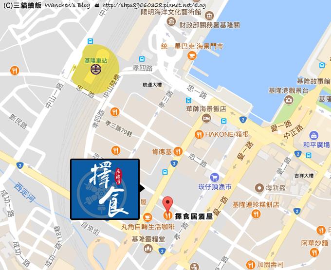 good choose izakaya map