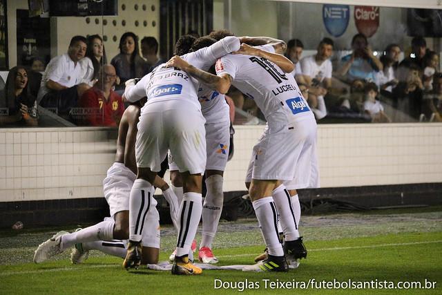 Santos 3 x 2 São Paulo (Brasileirão)
