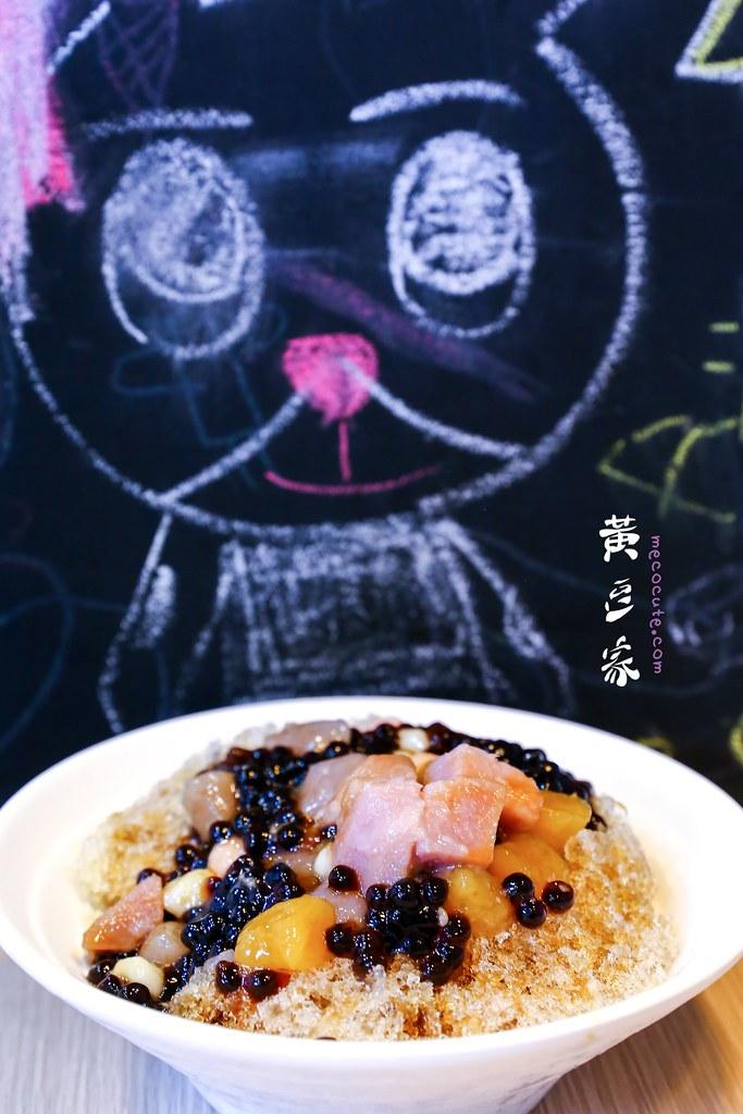 南機場夜市冰店,南機場豆漿,萬華美食,萬華黃豆家,黃豆家,黃豆家菜單 @陳小可的吃喝玩樂