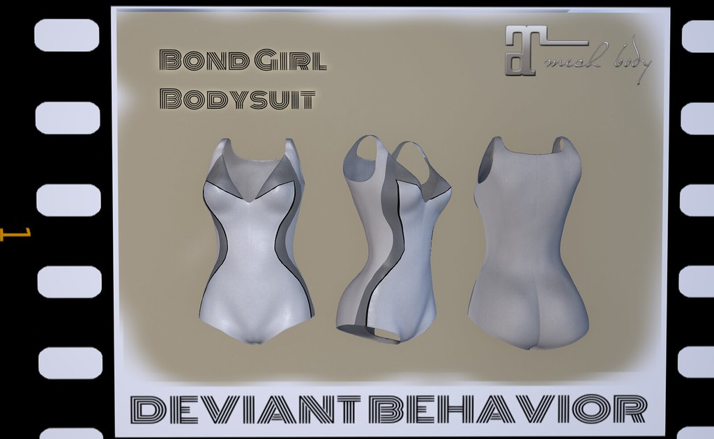 Bond Girl Bodysuit (Angel) - SecondLifeHub.com
