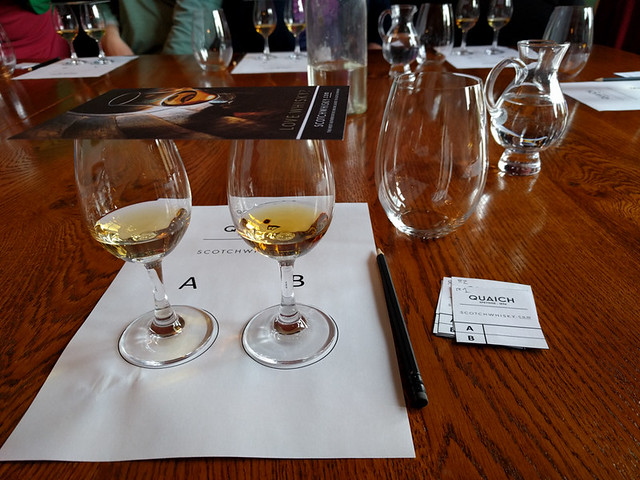 Rothes vs Dufftown blind tasting