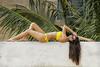 Tara Zoe Woltjes - Yellow Bikini
