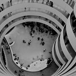 NYC Guggenheim inside