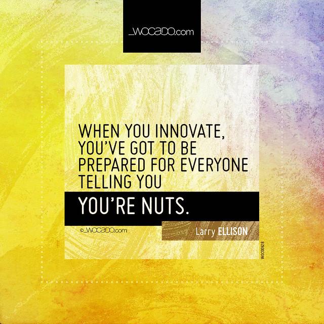 When you innovate by WOCADO.com