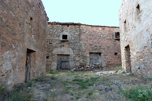 TOBES (Aldea despoblada de Sienes). Guadalajara. Spain. 2014. Sierra Norte. Arquitectura rural.
