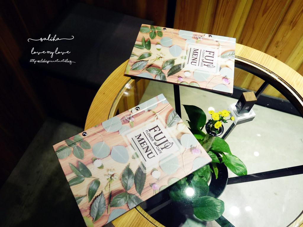 台北信義區花店咖啡館餐廳推薦FUJI FLOWER CAFE (3)