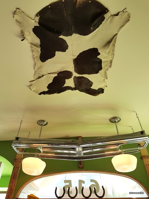 Hotmess Tex Mex ceiling