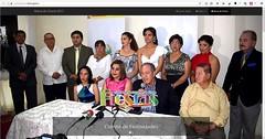En Chone, Comité de Festividades presenta su sitio web oficial