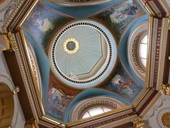 Memorial Rotunda  Dome Murals