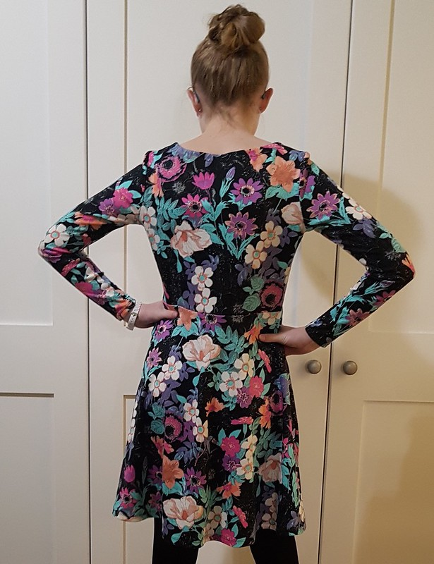 McCalls 7079 in printed ponte from Super Cheap Fabrics