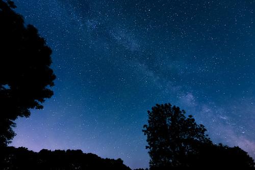weimar thüringen deutschland milchstrase milky way nacht sterne star