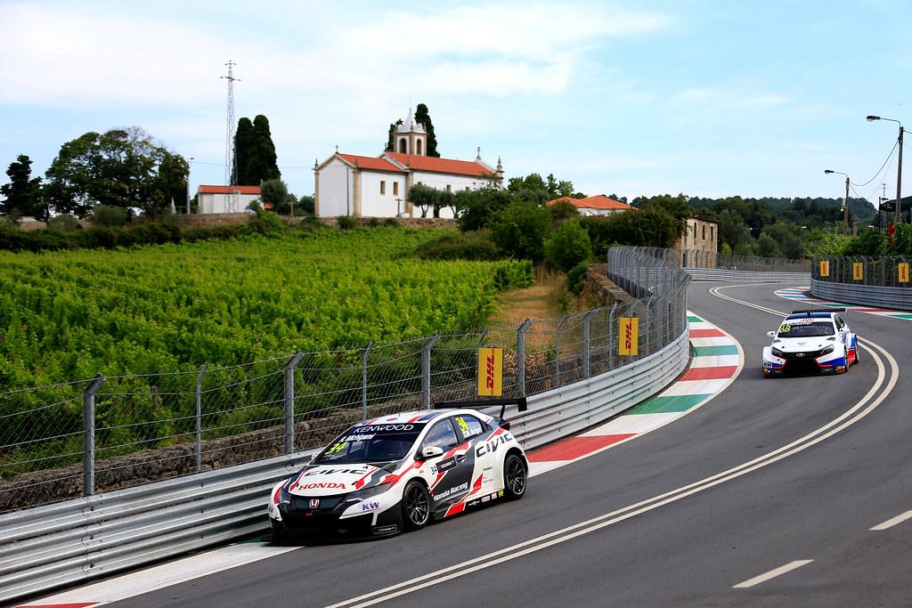34 MICHIGAMI Ryo (jpn) Honda Civic team Honda racing team Jas action during the 2017 FIA WTCC World Touring Car Championship race of Portugal, Vila Real from june 23 to 25 - Photo Paulo Maria / DPPI