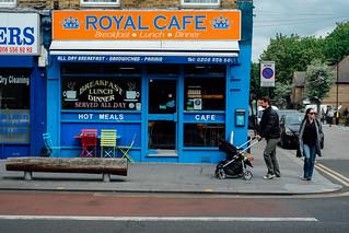 Royal Cafe, Leyton High Road