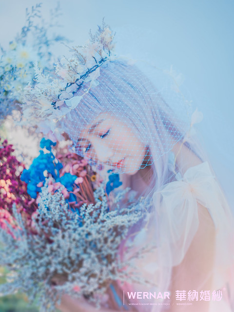 森系新娘,台中婚紗,新娘造型,日系新娘,新娘髮型,夢幻新娘造型,夢幻日系