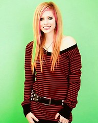 She is so cute #avrillavigne #flickr