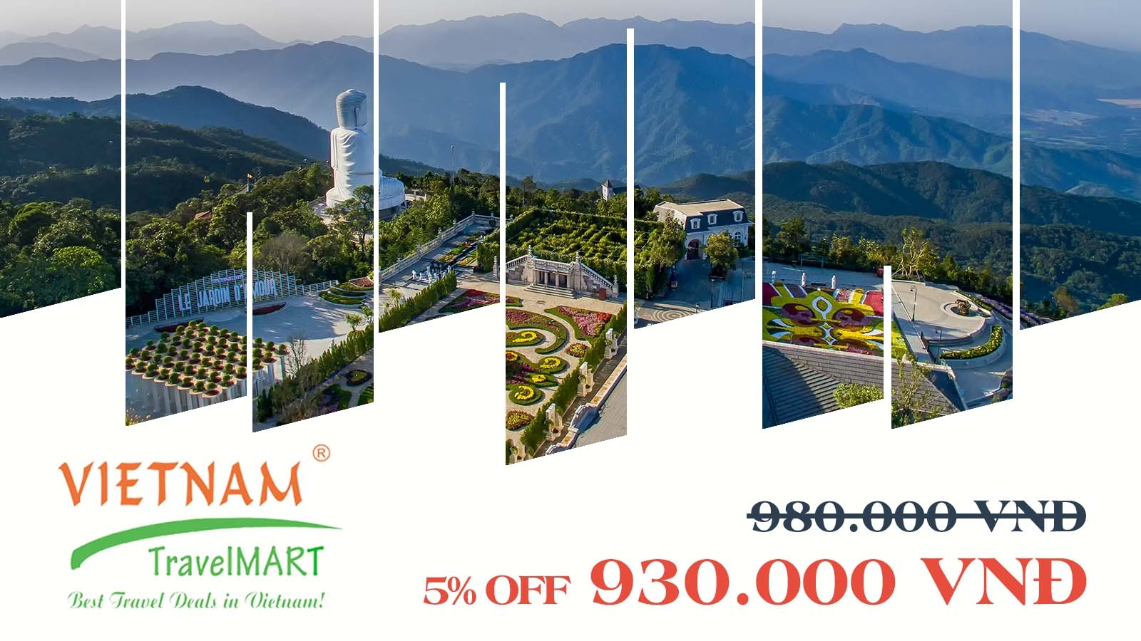 Vietnam TravelMART JSC | 5% OFF Bana Hills daily tour
