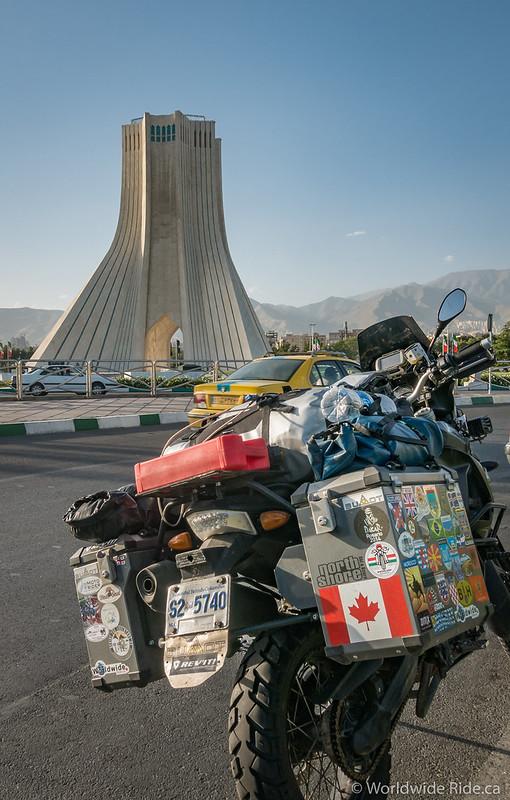 Bumot in Tehran