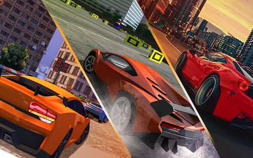Car Racing Rush Simulator