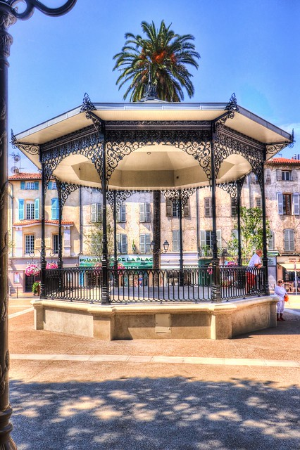 Kiosque à musique, Antibes