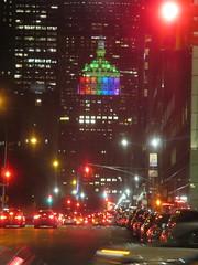 Rainbow Pride The Helmsley Building 7836