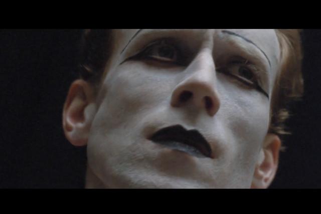 Screenshot of Edward Watson taken from a short film by Beauty Papers