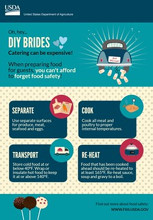 DIY Wedding Food Safety Tips