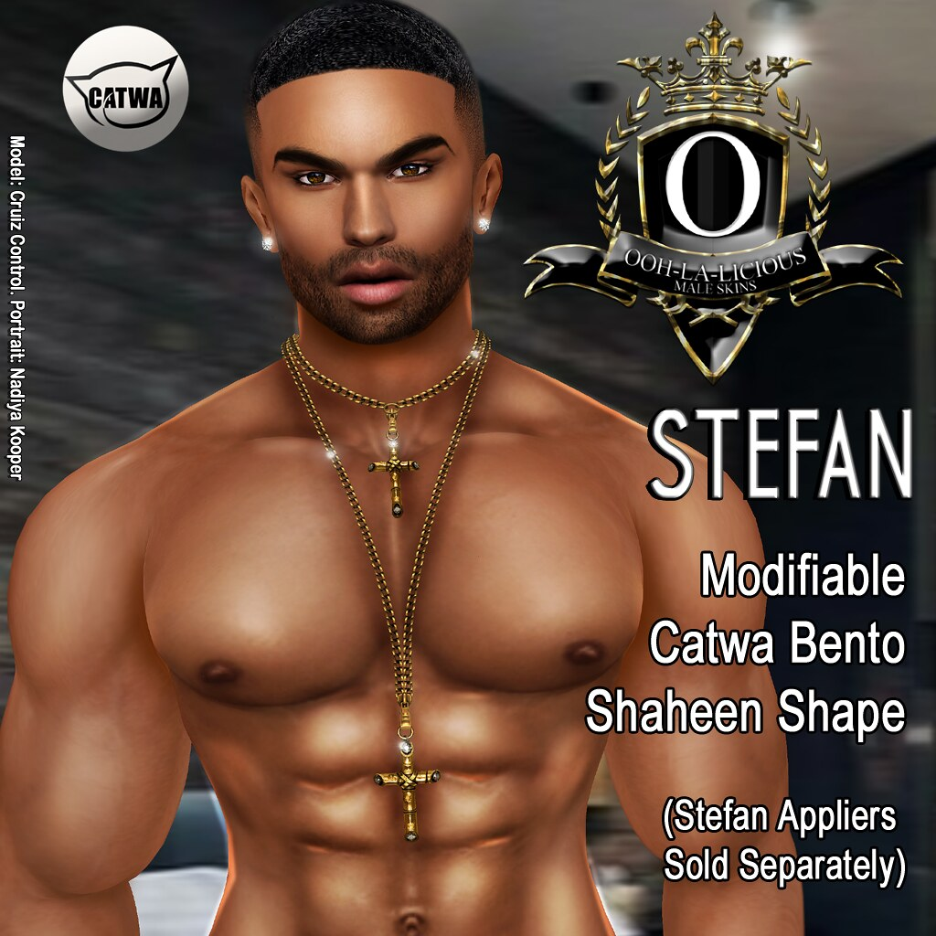 Ooh-la-licious® Stefan Catwa Shaheen Bento Shape - SecondLifeHub.com