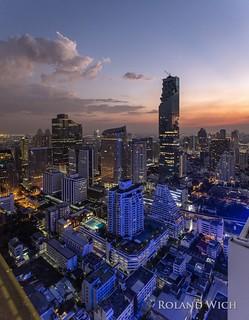 Bangkok - View from Cloud 47 Rooftop Bar