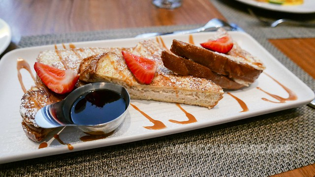 Coast Restaurant/stuffed French toast