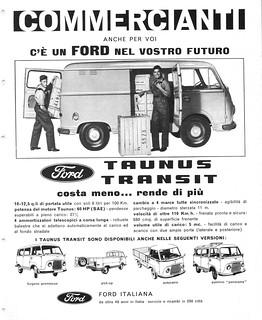 1963 Ford Taunus Transit (Italy)