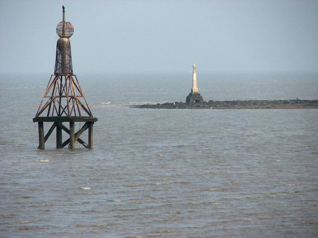 The mouth of Yantlet Creek, Isle of Grain