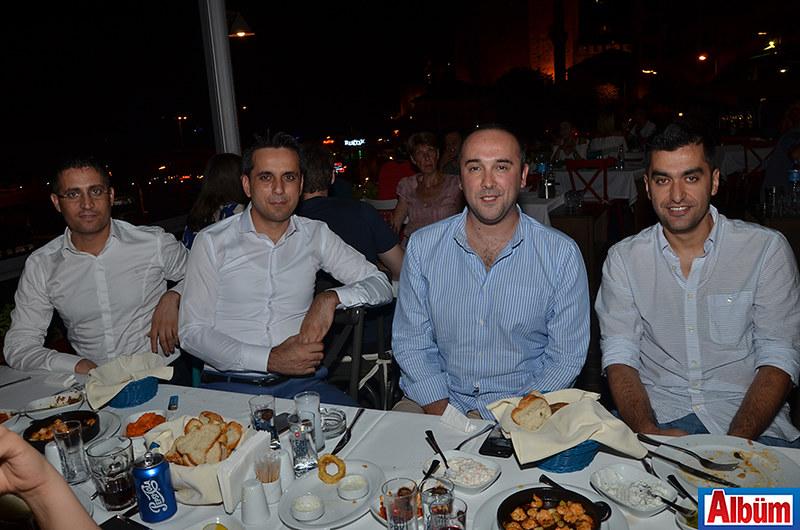 Ferhat Özdemir, Bekir Demir, Arif Mahir Fida, Murat Yüksel