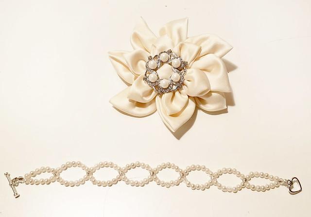 Flower and bracelet