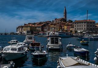 Waterfront Rovinj Croatia