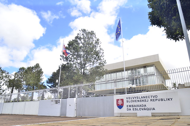 Alunos do Senac elaboram almoço na embaixada da Eslováquia