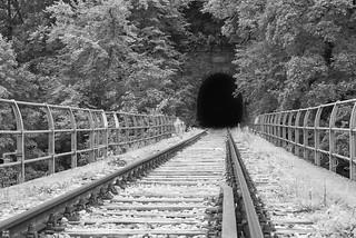 black hole ahead