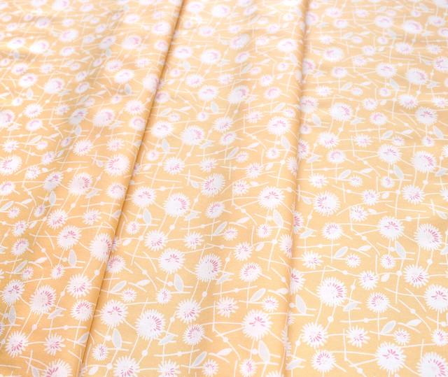 Art Gallery Fabrics Gossamer Seed Puffs Jonquil