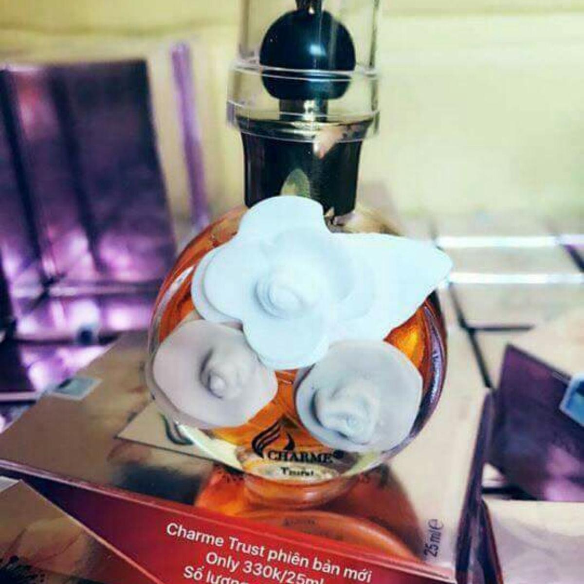 Nước hoa charme Perfume tinh dầu nhập khẩu Pháp đang gây sốt - charme trust
